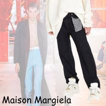 Maison Martin Margiela Stripes Denim Jeans & Denim