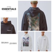 FEAR OF GOD ESSENTIALS Pullovers Unisex Street Style Oversized Hoodies