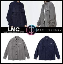 LMC Casual Style Unisex Street Style Shirts & Blouses