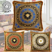 VERSACE Unisex Fringes Decorative Pillows