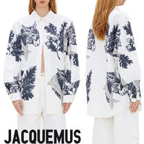JACQUEMUS Long Sleeves Other Animal Patterns Oversized