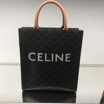 CELINE Triomphe Canvas Casual Style Canvas Totes