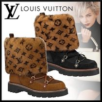 Louis Vuitton MONOGRAM Monogram Rubber Sole Casual Style Blended Fabrics