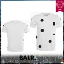 BALR Crew Neck Street Style Cotton Short Sleeves