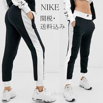Nike Casual Style Sweat Street Style Bi-color Medium Skinny Pants