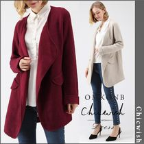 Chicwish Casual Style Long Coats