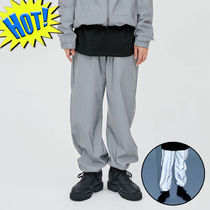 OPEN THE DOOR Street Style Plain Joggers & Sweatpants