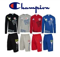 CHAMPION Street Style Top-bottom sets
