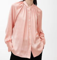ARKET Casual Style Long Sleeves Plain Shirts & Blouses