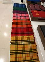 Burberry Other Check Patterns Cashmere Heavy Scarves & Shawls