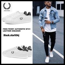 FRED PERRY Unisex Street Style PVC Clothing Sneakers