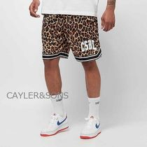 CAYLER&SONS Printed Pants Leopard Patterns Street Style Shorts