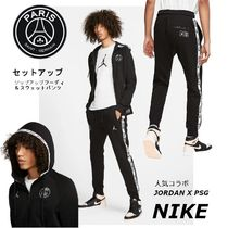 Nike AIR JORDAN Street Style Collaboration Top-bottom sets