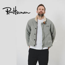 Ron Herman Short Street Style Plain MA-1 Bomber Jackets