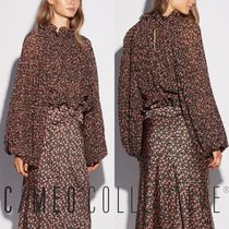 Cameo the Label Flower Patterns Medium Puff Sleeves Shirts & Blouses