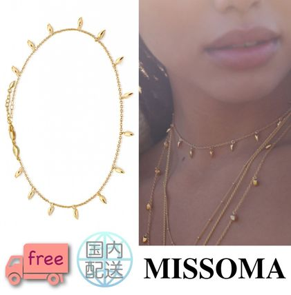 Casual Style Street Style Chain 18K Gold