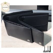 Dunhill Plain Leather Folding Wallets