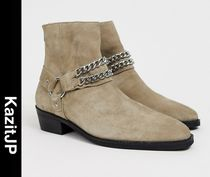 ASOS Suede Street Style Boots
