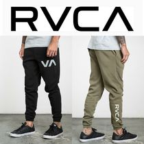 RVCA Unisex Sweat Street Style Plain Joggers & Sweatpants