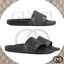 GUCCI Other Animal Patterns Shower Shoes Shower Sandals