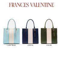 FRANCIS VALENTINE Casual Style Plain Totes