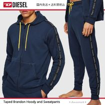 DIESEL Blended Fabrics Street Style Top-bottom sets