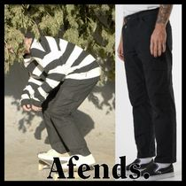 AFENDS Street Style Cotton Pants