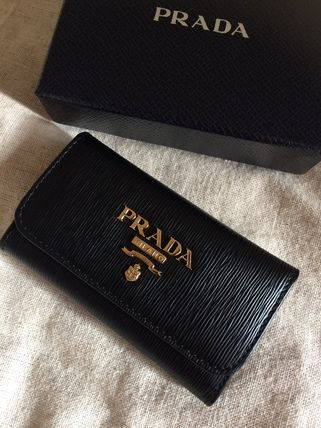 PRADA Keychains & Bag Charms Plain Leather Keychains & Bag Charms 6