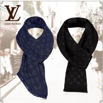 Louis Vuitton MONOGRAM Monogram Unisex Cashmere Accessories