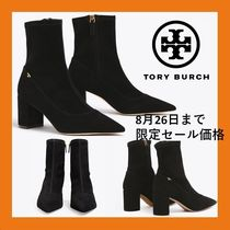 Tory Burch Suede Ankle & Booties Boots