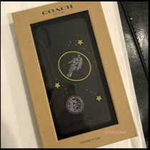 Coach Leather Smart Phone Cases