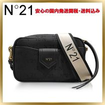 N21 numero ventuno Leather Elegant Style Shoulder Bags