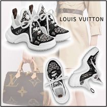 Louis Vuitton 2019-20AW LV ARCHLIGHT SNEAKER black & white sneakers