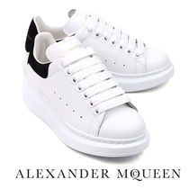 alexander mcqueen Leather Low-Top Sneakers