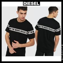 DIESEL Cotton Short Sleeves T-Shirts