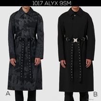 ALYX Camouflage Street Style Long Trench Coats