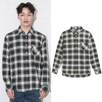beyond closet Other Check Patterns Casual Style Unisex Street Style