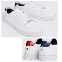 Tommy Hilfiger Plain Leather Sneakers