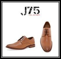 J75 by JUMP Plain Toe Faux Fur Plain Oxfords