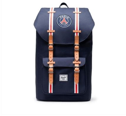 Street Style Collaboration A4 Logo Backpacks
