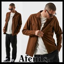 AFENDS Street Style Long Sleeves Shirts
