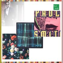 Paul Smith Other Check Patterns Flower Patterns Cotton Handkerchief