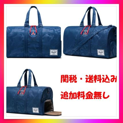 Street Style Collaboration A4 Logo Boston Bags