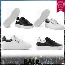 BALR Unisex Street Style Plain Leather Sneakers