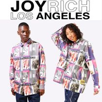 JOYRICH Unisex Street Style Long Sleeves Shirts
