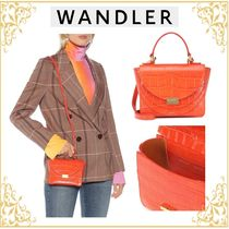 WANDLER Casual Style 2WAY Other Animal Patterns Leather