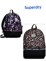 Superdry Leopard Patterns Casual Style Street Style