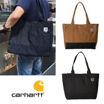 Carhartt Casual Style Unisex Plain Totes