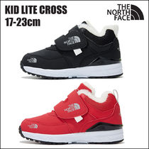 THE NORTH FACE Unisex Blended Fabrics Street Style Kids Girl Sneakers