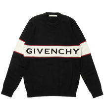 GIVENCHY Crew Neck Wool Long Sleeves Sweaters
